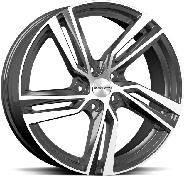 Volvo / Ford Arcan Anthracite Diamond 8x17 5/108 ET42 CB63.4